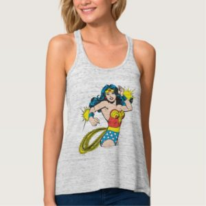 Wonder Woman Twist with Glowing Cuffs Tank Top
