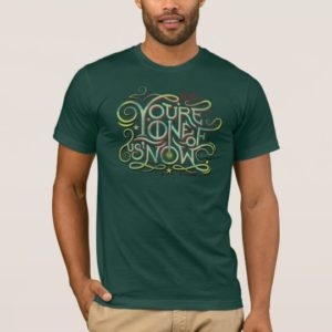 You're One Of Us Now Green Graphic T-Shirt