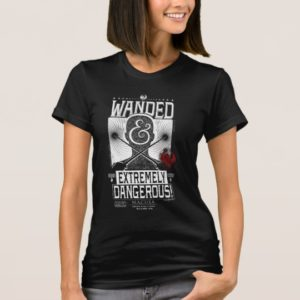 Wanded & Extremely Dangerous Wanted Poster - White T-Shirt