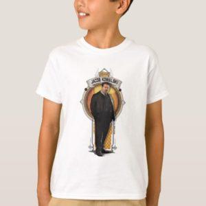 JACOB KOWALSKI™ Art Deco Panel T-Shirt