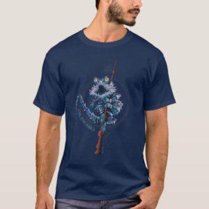 Cartoon Chupacabra & Elder Wand T-Shirt