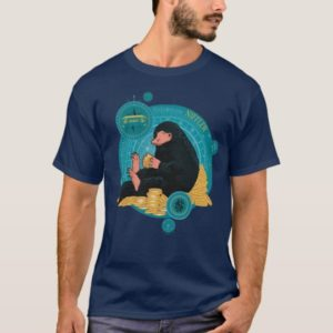 Cartoon NIFFLER™ With Gold Coins T-Shirt