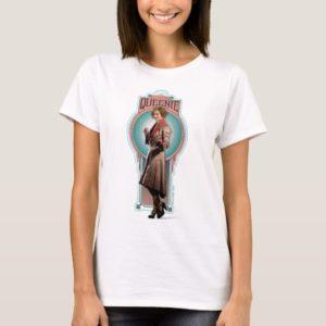 QUEENIE GOLDSTEIN™ Art Deco Panel T-Shirt