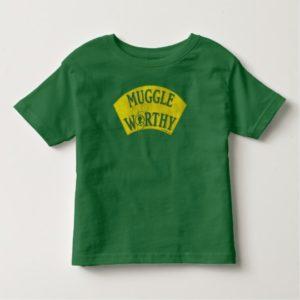 MUGGLE WORTHY™ TODDLER T-SHIRT