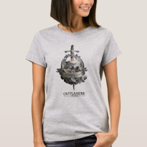Outlander | The Fraser Brooch T-Shirt