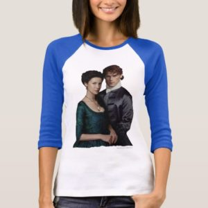 Outlander | Claire And Jamie Damask Portrait T-Shirt