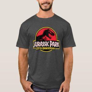 Jurassic Park 25th Anniversary Logo T-Shirt
