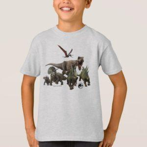 Jurassic World Dinosaur Herd T-Shirt