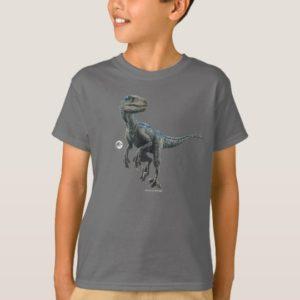Jurassic World   Blue T-Shirt