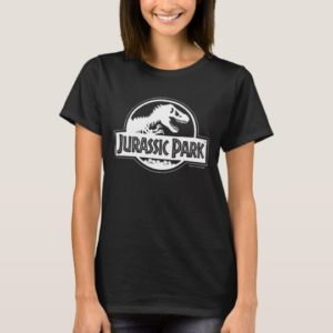 Jurassic Park | White Logo T-Shirt