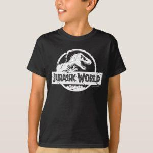 Jurassic World | White Logo T-Shirt