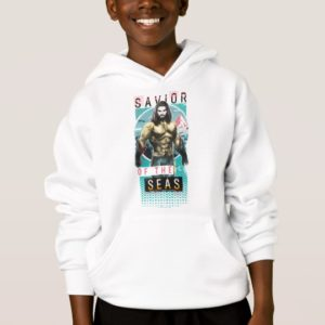 "Aquaman | ""Savior Of The Seas"" Modernist Graphic Hoodie"