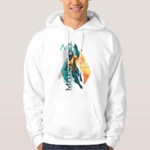 Aquaman | Modernist Aquaman Collage Hoodie