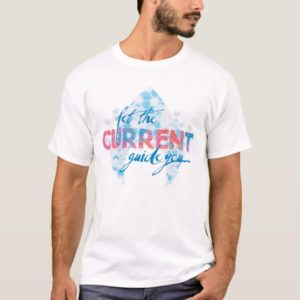 "Aquaman | ""Let The Current Guide You"" Logo Graphic T-Shirt"