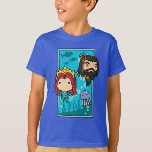 Aquaman | Chibi Mera & Aquaman Undersea Graphic T-Shirt