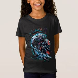 Aquaman   Orm, Black Manta, Tylosaur, & Ships T-Shirt