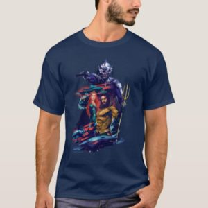 Aquaman   King Orm Versus Mera & Aquaman T-Shirt