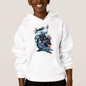 Aquaman | Orm, Black Manta, Tylosaur, & Ships Hoodie
