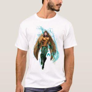 Aquaman   Prince Orin With Aquaman Logo T-Shirt