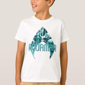 Aquaman | Orin, Mera, Orm & Black Manta In Symbol T-Shirt