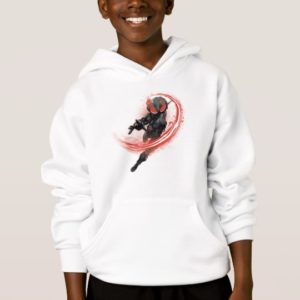Aquaman | Black Manta Red Swipe Graphic Hoodie