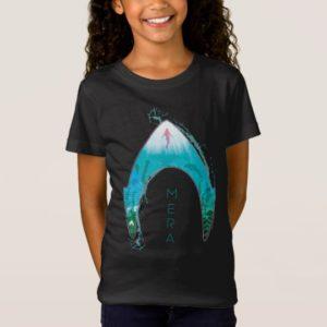 Aquaman | See Through Mera Symbol Ocean Graphic T-Shirt