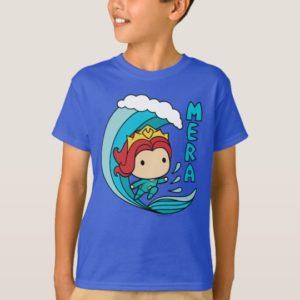 Aquaman | Chibi Mera Riding Wave Graphic T-Shirt