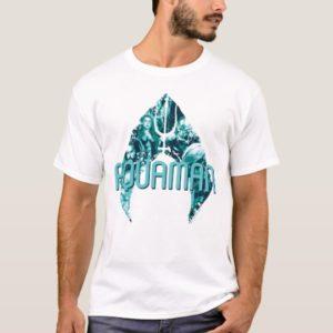 Aquaman   Orin, Mera, Orm & Black Manta In Symbol T-Shirt