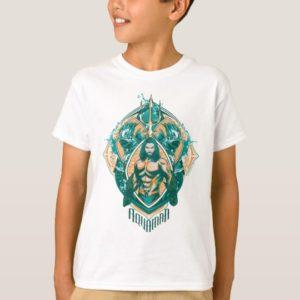 Aquaman | Aquaman & Trenchers Graphic T-Shirt