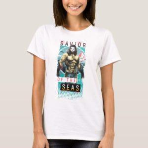 "Aquaman | ""Savior Of The Seas"" Modernist Graphic T-Shirt"