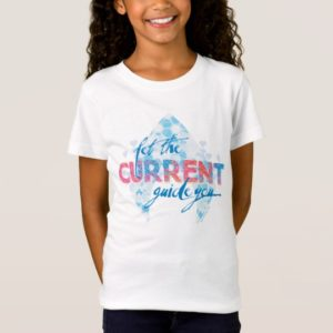 """Aquaman   """"Let The Current Guide You"""" Logo Graphic T-Shirt"""