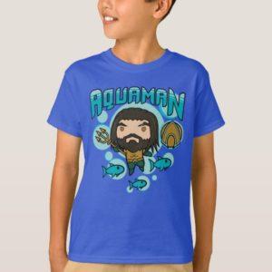 Aquaman | Chibi Aquaman Undersea Graphic T-Shirt