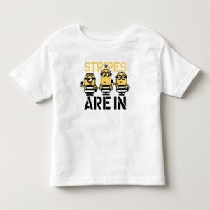 Despicable Me | Minions Stripes are In Toddler T-shirt