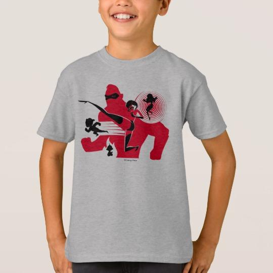 The Incredibles 2 Hero Work T Shirt Custom Fan Art