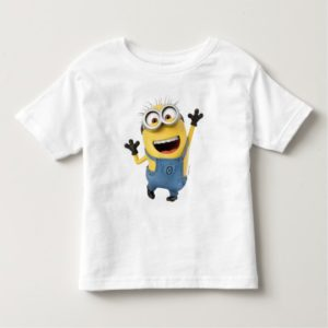 Despicable Me | Minion Tom Excited Toddler T-shirt