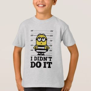 Despicable Me | Minion Dave - I Didn't Do It T-Shirt