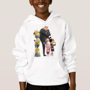Despicable Me   Minions, Gru & Girls Hoodie