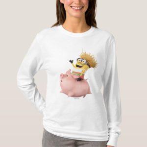 Despicable Me | Minion Dave Riding Pig T-Shirt