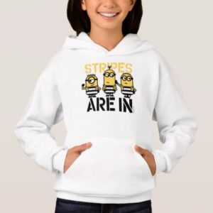 Despicable Me | Minions Stripes are In Hoodie