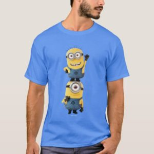 Despicable Me   Minions Tom & Stuart Stacked T-Shirt