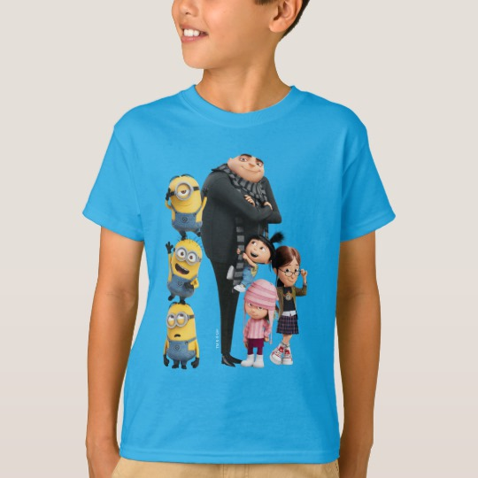 Minions Despicable Me Girls T-Shirt