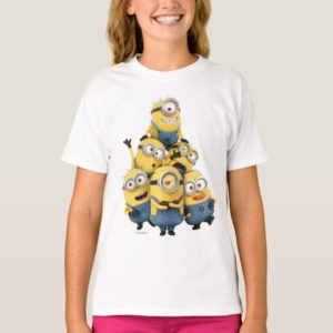 Despicable Me   Pyramid of Minions T-Shirt