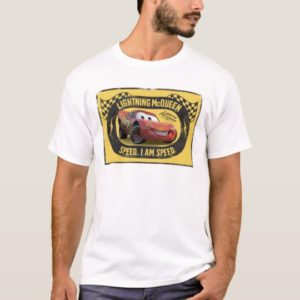 Lightning McQueen - Speed. I Am Speed Disney T-Shirt