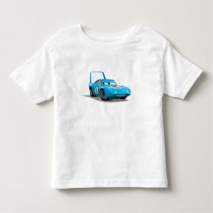 "Cars Strip ""The King"" Weathers Dinoco race car Toddler T-shirt"