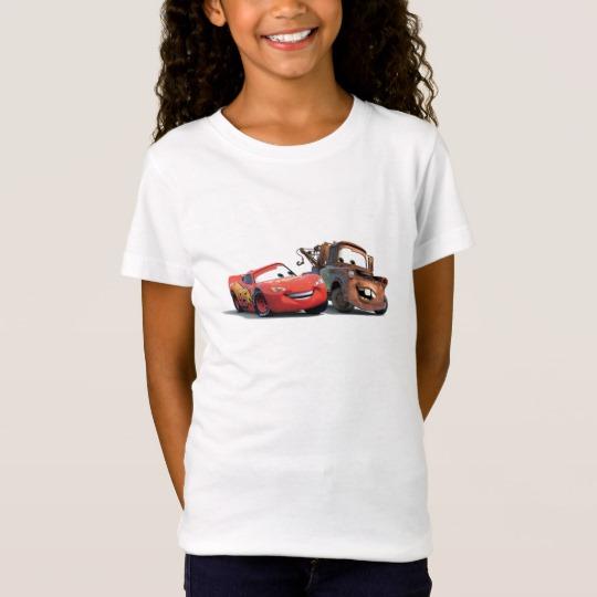 fe119bef Lightning McQueen and Tow Mater Disney T-Shirt - Custom Fan Art