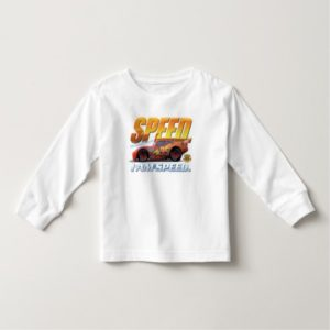 "Cars' Lightning McQueen ""I Am Speed"" Disney Toddler T-shirt"