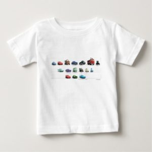Disney Cars Lineup Baby T-Shirt