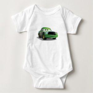 Chick Hicks Green Race Car Disney Baby Bodysuit