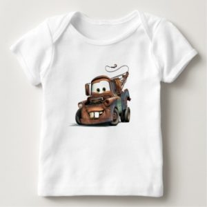 Tow Truck Mater Smiling Disney Baby T-Shirt