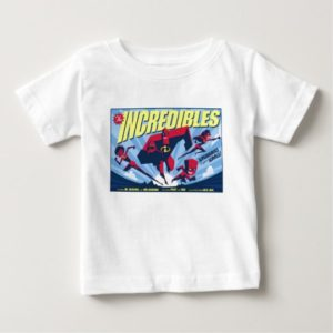 The Incredibles movie poster Disney Baby T-Shirt